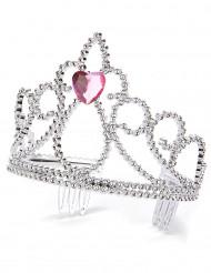 Diadème princesse coeur adulte