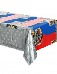 Nappe en plastique Chevaliers 130 x 180 cm