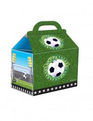 4 Boîtes de fête en carton Football