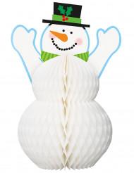 Décoration Bonhomme de neige 30 cm