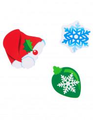 24 Confettis Noël en carton