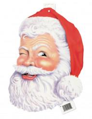 Décoration cartonnée Père Noël 38 cm