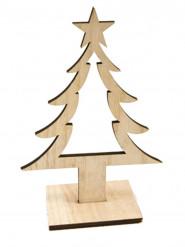 Décoration Sapin en bois 25 cm