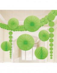kit de décorations vertes
