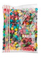 Maxi sachet Haribo dragibus multicolore 2kg