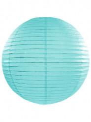 Lanterne japonaise bleu turquoise 45 cm