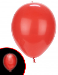 5 Ballons LED rouges Illooms ®