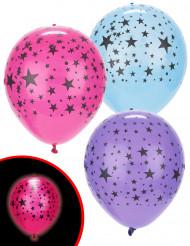 5 Ballons LED étoilés Illooms ®