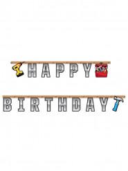 Guirlande articulée Happy Birthday Bricoleur 2,59 m