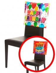 Housse de chaise Happy Birthday 38 x 48 cm