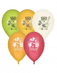 5 Ballons Mickey™ 23 cm