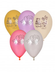 5 Ballons Minnie™ 23 cm