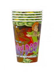 5 Gobelets en carton Scooby-Doo™ 200ml