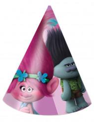6 Chapeaux de fête Trolls™