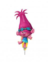 Petit ballon aluminium Poppy Trolls™ gonflé