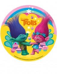 Disque en sucre Trolls™ 16 cm