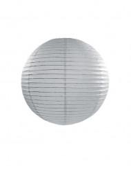 Lanterne japonaise grise 25 cm