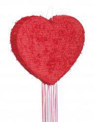 Pinata cœur rouge 56 cm