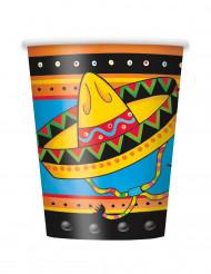 8 Gobelets en carton Mexique