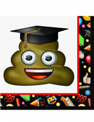 16 Serviettes en papier Emoji™