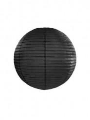 Lanterne japonaise noire 25 cm