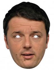 Masque carton Matteo Renzi