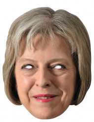 Masque carton Theresa May