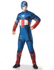 Déguisement adulte luxe Captain America - Avengers™