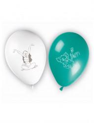 8 Ballons latex imprimés Vaiana™