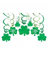 Kit de 30 décorations spirales St Patrick