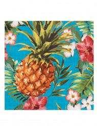 16 Serviettes en papier Tropics 33 x 33 cm