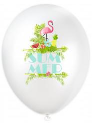 6 Ballons latex Summer Party
