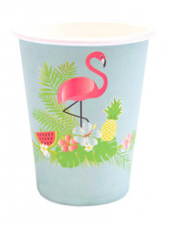 8 Gobelets en carton Summer Party 25 cl