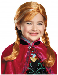 Perruque Anna Reine des Neiges™ fille