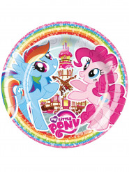 8 Assiettes en carton My Little Pony ™ 23cm