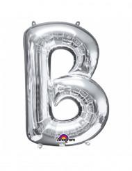 Ballon aluminium géant Lettre B argent 58 x 86 cm