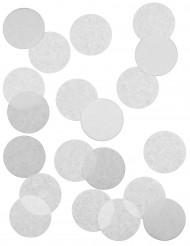 Confettis de scène blancs ignifugés 5 cm-  100 g