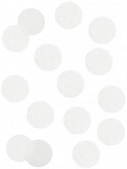 Confettis en papier blancs ignifugés 100 gr