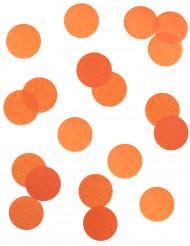 Confettis de scène orange ignifugé 100 grammes