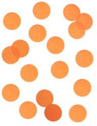 Confettis en papier orange ignifugé 100 gr