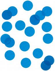 Confettis en papier ignifugé bleu turquoise 100 gr