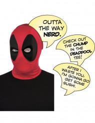 Cagoule luxe Deadpool™ adulte avec bulles