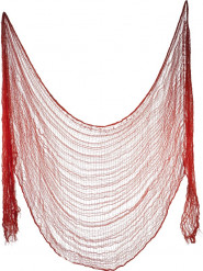 Drap rouge 75 x 300 cm Halloween