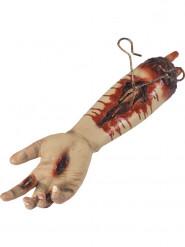 Bras sanglant pouls animé Halloween 45 cm