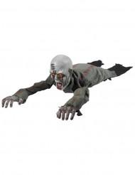 Décoration lumineuse et animée zombie rampant 110 cm Halloween