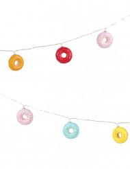 Guirlande lumineuse donuts 2m10