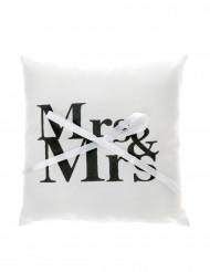 Coussin Mr & Mrs 18 cm