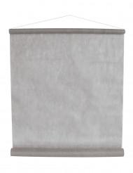 Tenture grise en intissé 8 m x 70 cm