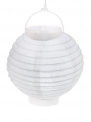 Lanterne lumineuse blanche 20 cm