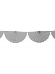 Guirlande éventail gris